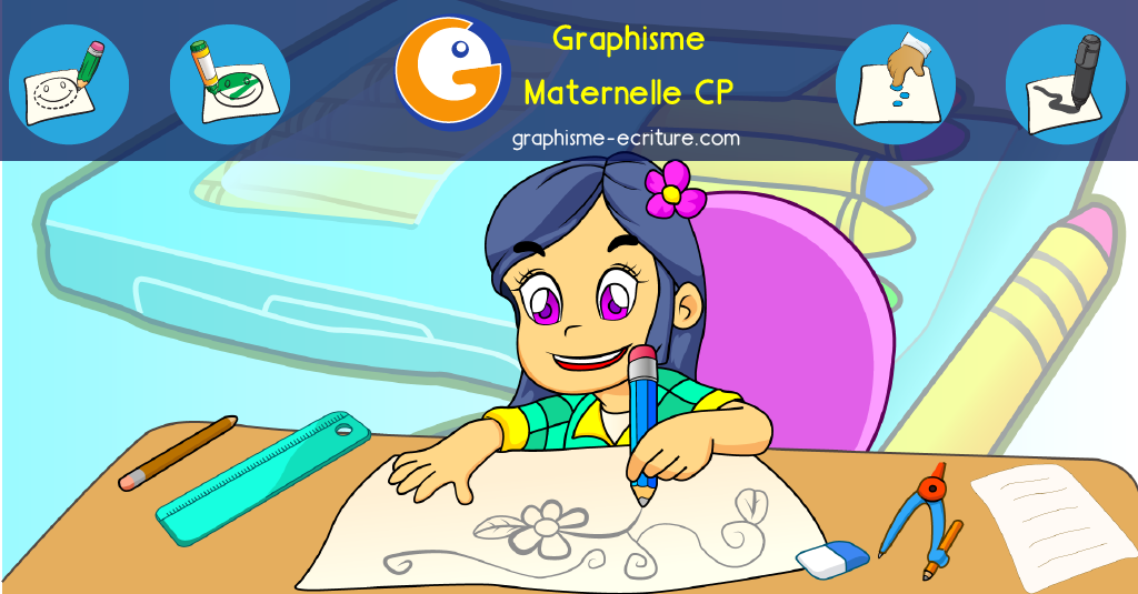 Graphisme Maternelle à imprimer gratuit - Fiches et Ateliers PS MS GS CP