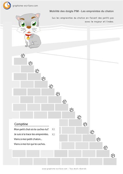 graphisme-petite-section-maternelle-ps-le-point-suivre-les-empreintes-du-chat-droite