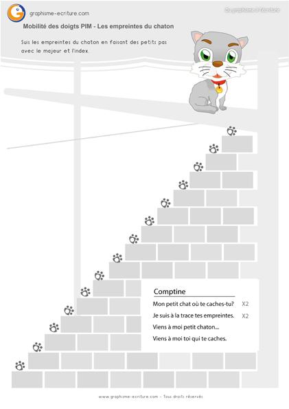 graphisme-petite-section-maternelle-primaire-le-point-suivre-les-empreintes-du-chat-gauche