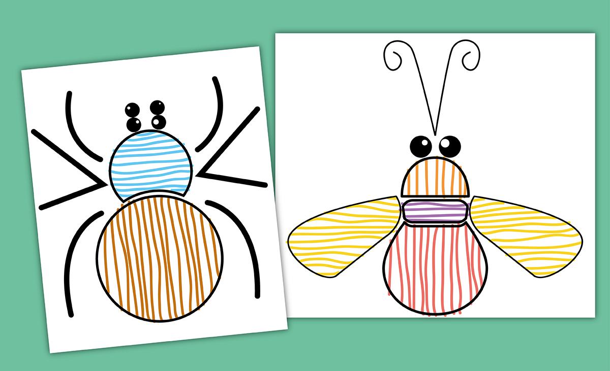 graphisme-maternelle-petite-section-les-traits-horizontaux-et-verticaux-decoration