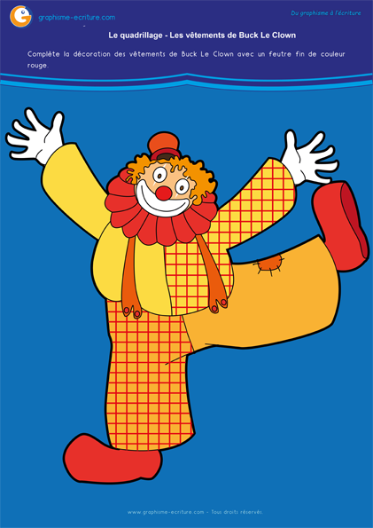 activité-graphisme-maternelle-petite-section-quadrillage-quadrillages—decorer-les-habits-du-clown