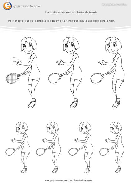 activité-graphisme-maternelle-petite-section- traits-et-ronds-partie-de-tennis