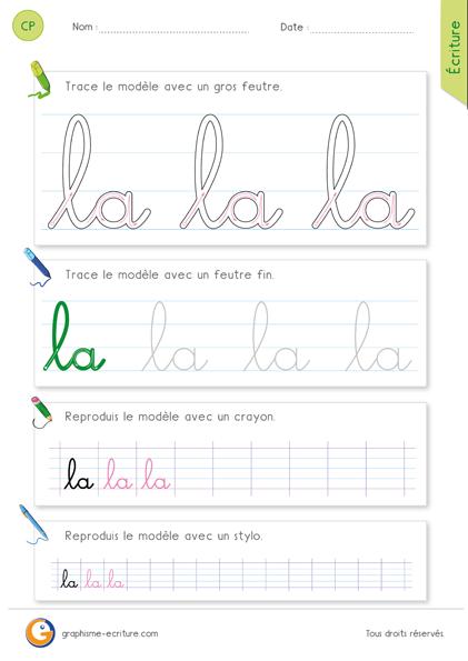 fiche-graphisme-ecriture-cp-ecrire-le-mot-la-minuscule-cursive