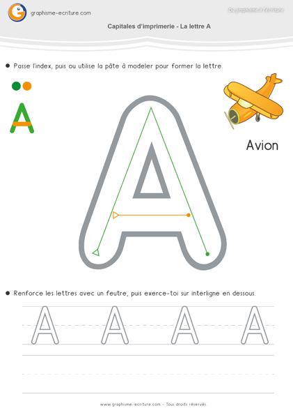 maternelle-ecriture-moyenne-section-ms-apprendre-à-écrire-capitales-imprimerie-lettre-a