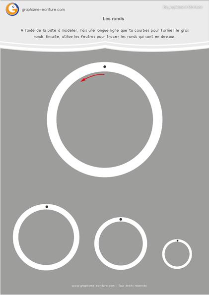 exercice-fiche- graphisme-écriture-moyenne-section-ms-tracer-des-ronds