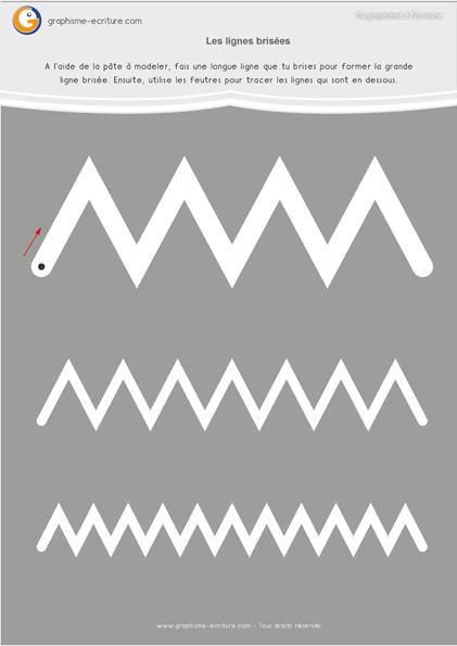 exercice-fiche- graphisme-écriture-moyenne-section-ms-tracer-zigzag-fiche-a-plastifier