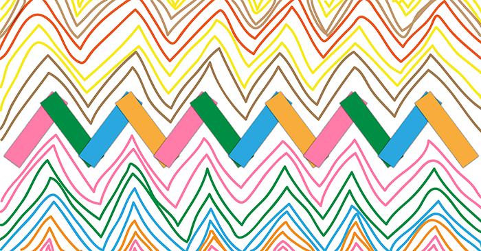exercice-atelier-graphisme-écriture-moyenne-section-ms-lignes-brisees-zigzag-collage-papier-feutre