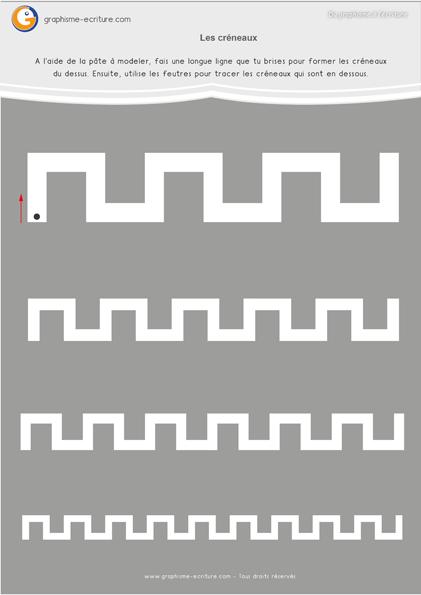 exercice-fiche-graphisme-écriture-moyenne-section-ms-créneaux-fiche-a-plastifier