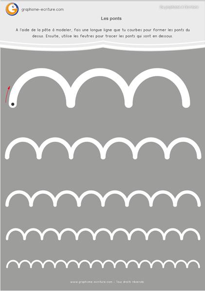 Graphisme Moyenne Section Les ponts à l'endroit-fiche-a-plastifier