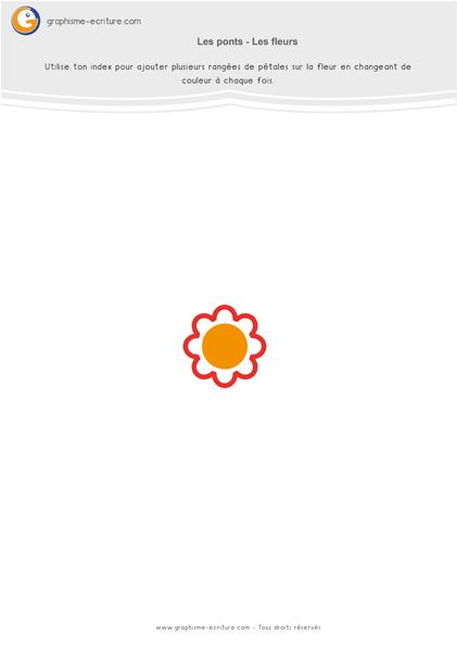 exercice-fiche-graphisme-écriture-moyenne-section-ms-les-ponts-dessiner-des-fleurs-au-doigt