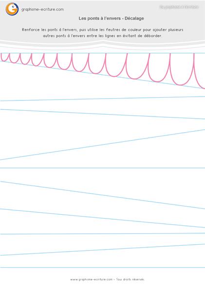 exercice-fiche-graphisme-écriture-moyenne-section-ms-les-ponts-a-l-envers-decalages