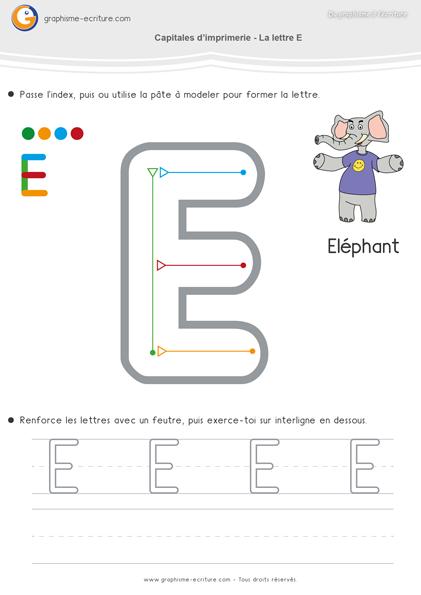 maternelle-ecriture-moyenne-section-ms-apprendre-à-écrire-capitales-imprimerie-lettre-e